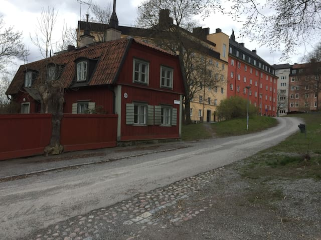 Charming House from 17th century - Stockholm - Hus