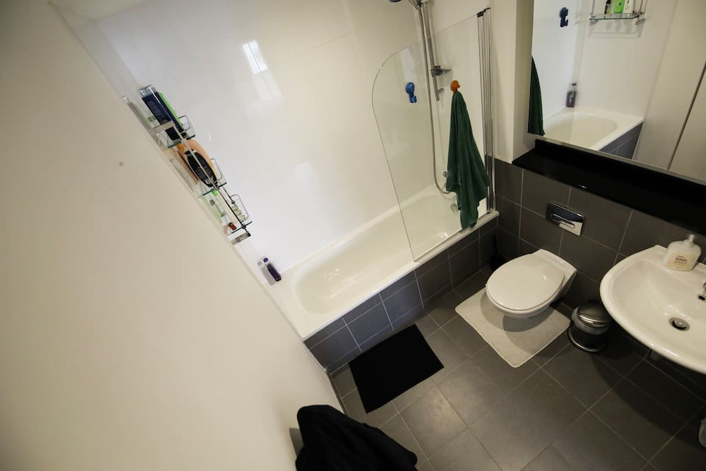 Ensuite bathroom that will only be used by you
