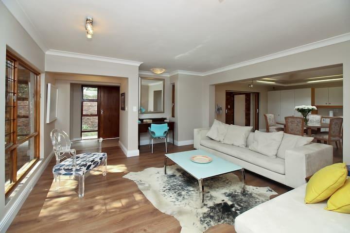 Luxury two bedroom refurbished & furnished villa .