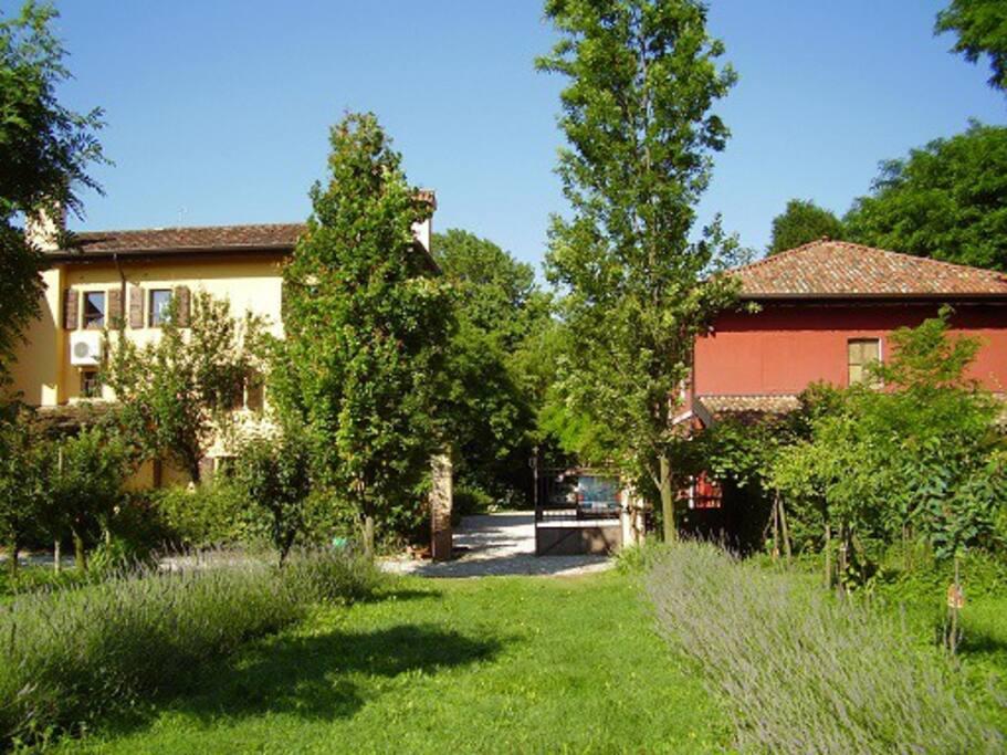 Casa delser apartments in a country house appartamenti for Appartamenti arredati in affitto a portogruaro