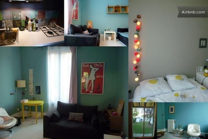 NearParis/Apartment with garden - Saint-Denis - Appartement
