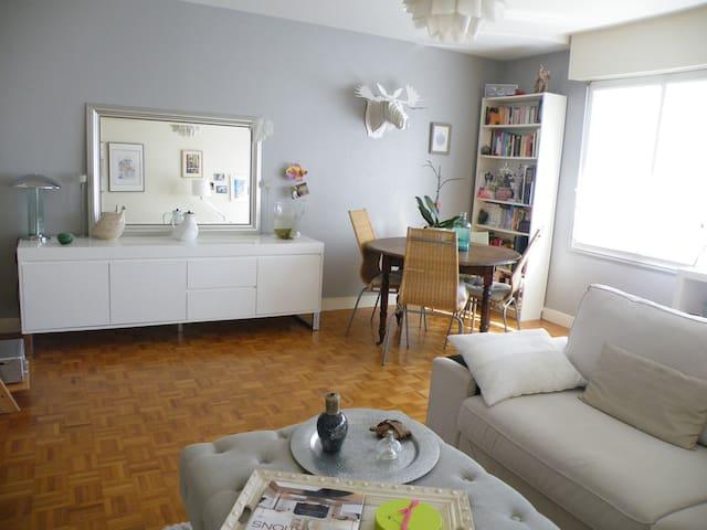 Appart T3 cosy,calme,proche centre - Lorient - Lägenhet