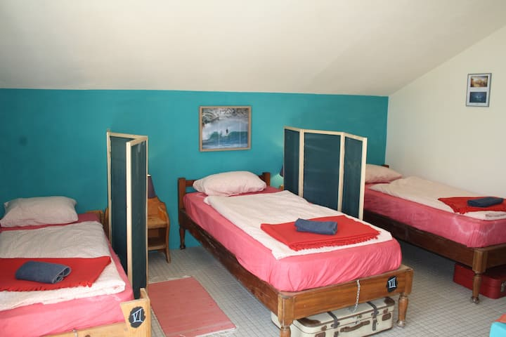 """8 bed dormitory in the """"Hostel on the Hill"""""""