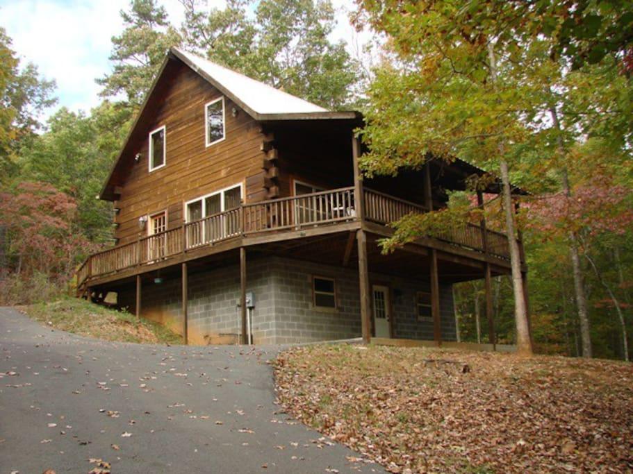 Hillside Hideaway Cabins For Rent In Murphy North