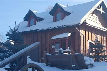 Chata drewniana Stefanòwka - Ślemień - Шале