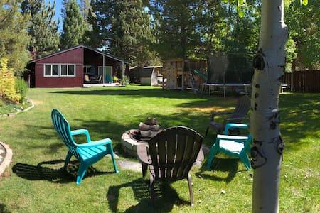 **Family, Pet Friendly South Lake Tahoe Retreat**