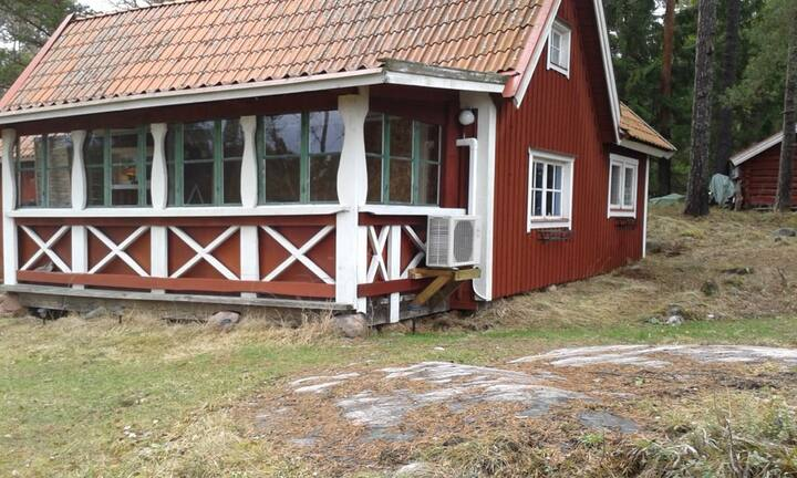 House by the Baltic Sea, one hour from Stockholm.