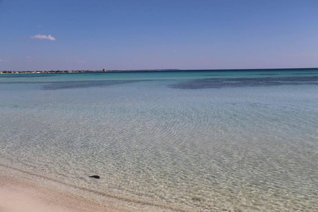 Torre Lapillo Beach/ Spiaggia di Torre Lapillo