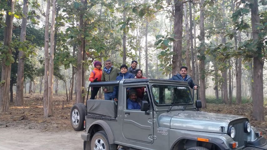 National Environment Camp, Dudhwa Tiger Reserve