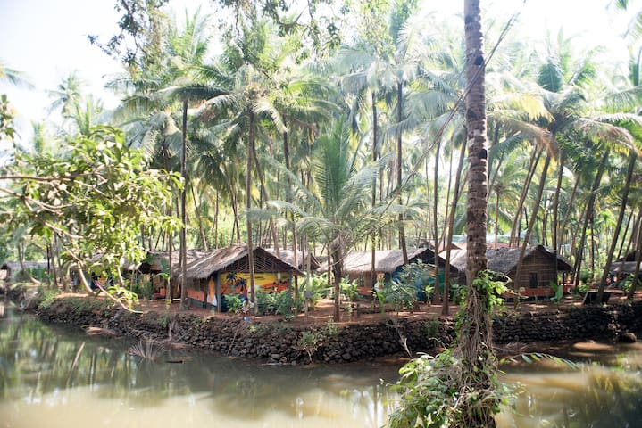Standard Hut Room at Patnem Backwaters