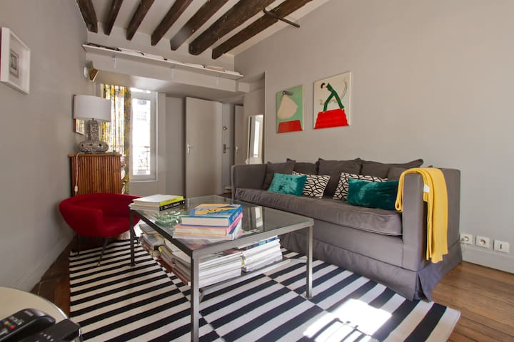 Charming apartment in Notre Dame - Paris - Apartamento