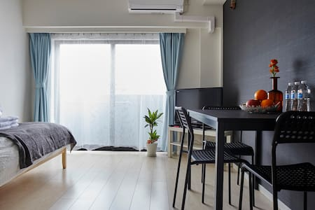 Brand New Cozy 1BDR in Tsukiji (near Ginza) - Chūō-ku - Apartment