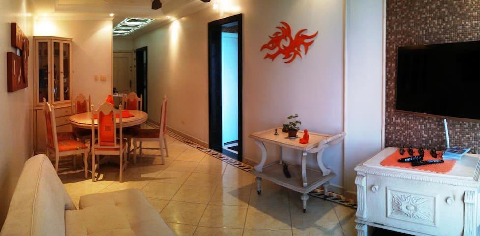 Apartamento TOP, vista magnífica!!! - São Vicente - Appartamento