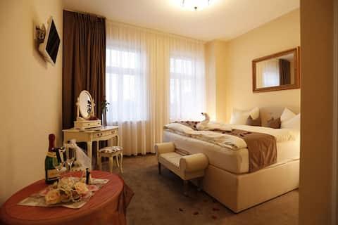 Doppelzimmer in der Villa Hierschel (Zimmer 2)