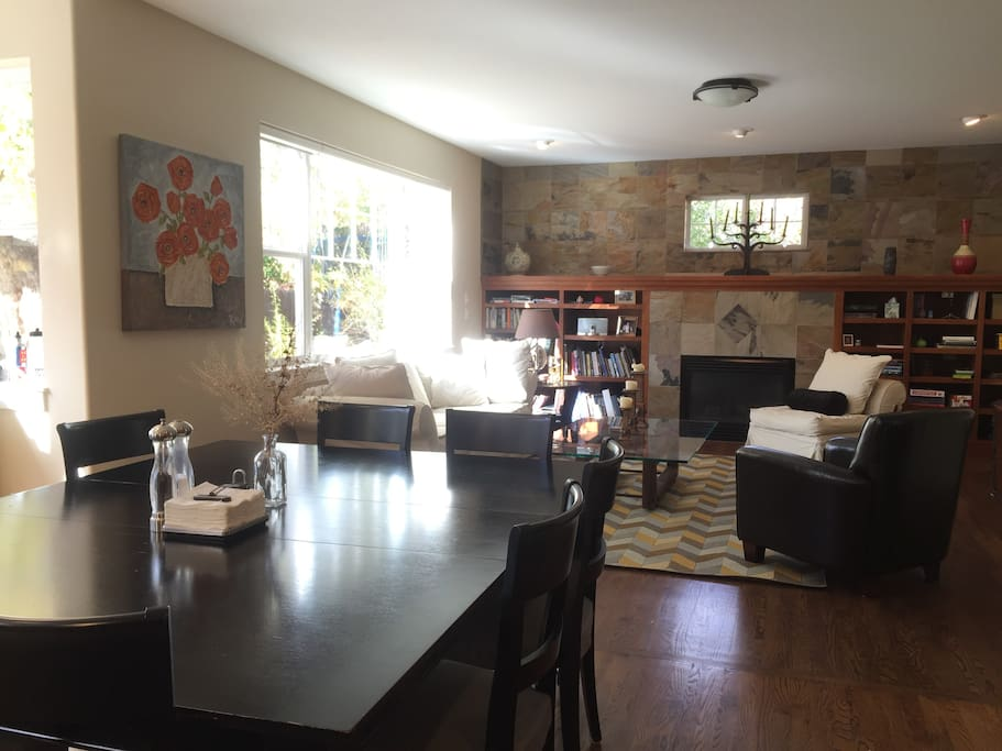 Great room/dining area