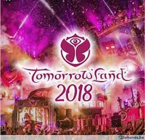 Bed&breakfast&transport 15 min from Tomorrowland.