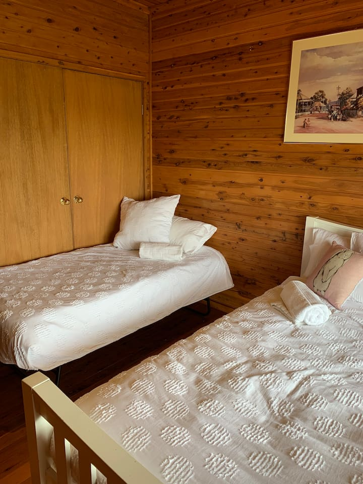 Same room, with trundle single bed if required