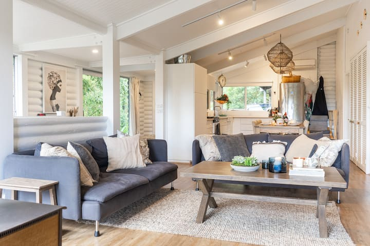 A beautifully eclectic styled and functional home.