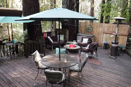 Tranquility Base Redwood Mountain Tree House