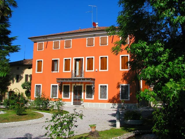 villa veneta vicino a venezia - Cinto Caomaggiore - Oda + Kahvaltı