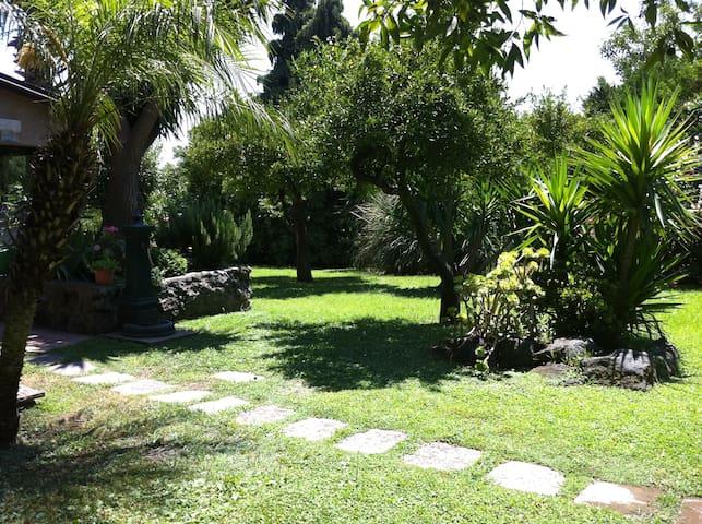 Villa con piscina splendido giardino