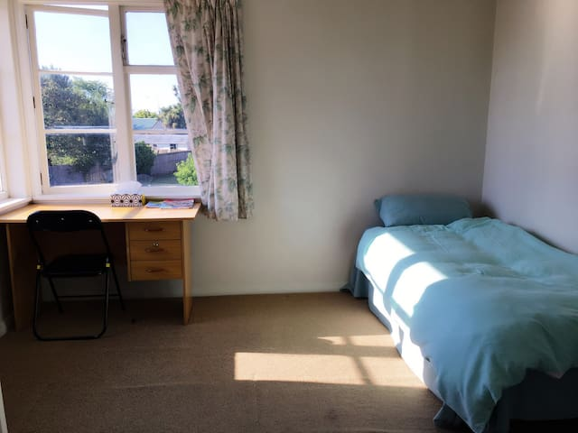 Lovely , clean private single room - Christchurch - Casa