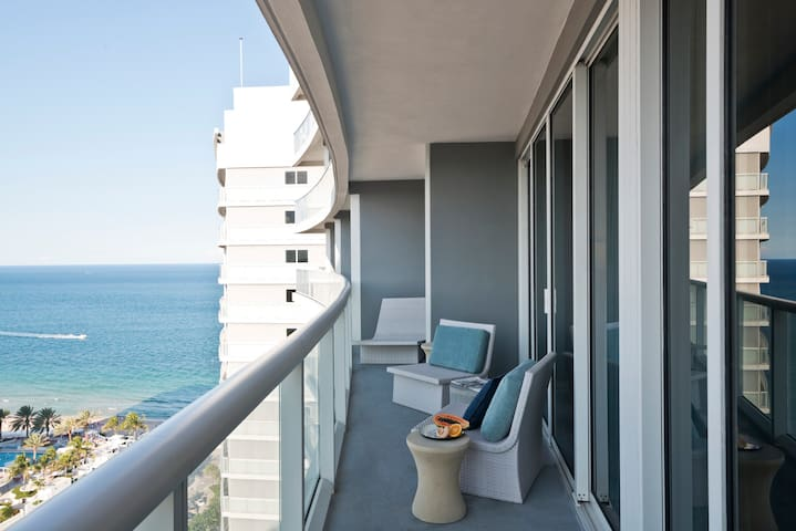 Private Two Bedroom 22nd Fl. Residences at W FTL - Fort Lauderdale - Appartement