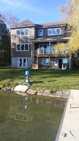 Brand new water front Orr Lake - Elmvale - Σπίτι