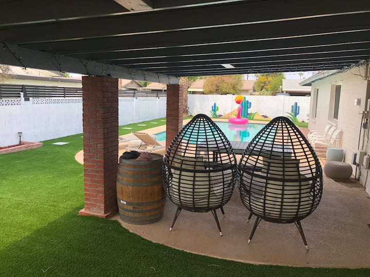Scottsdale Oasis with POOL, Ping Pong, Cornhole