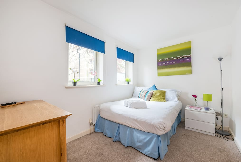 Master bedroom with double bed and ensuite