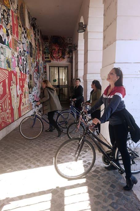 Paseo en bici por el sur de Roma