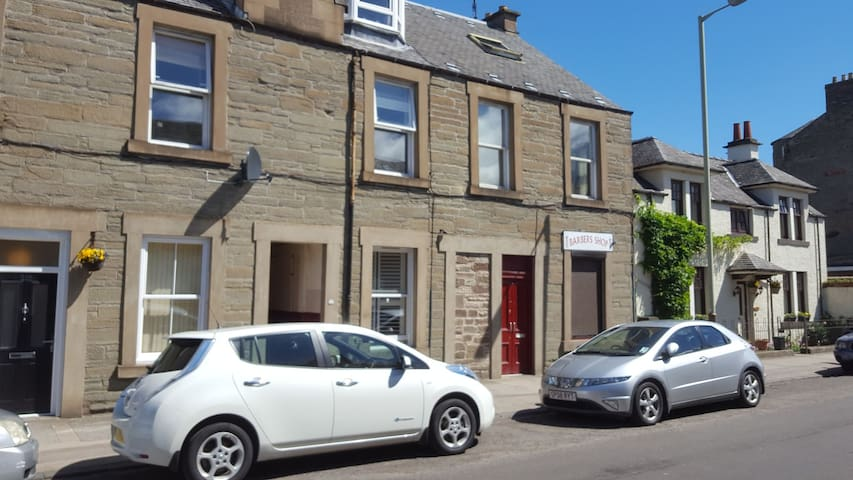Superb location in the heart of Broughty Ferry.