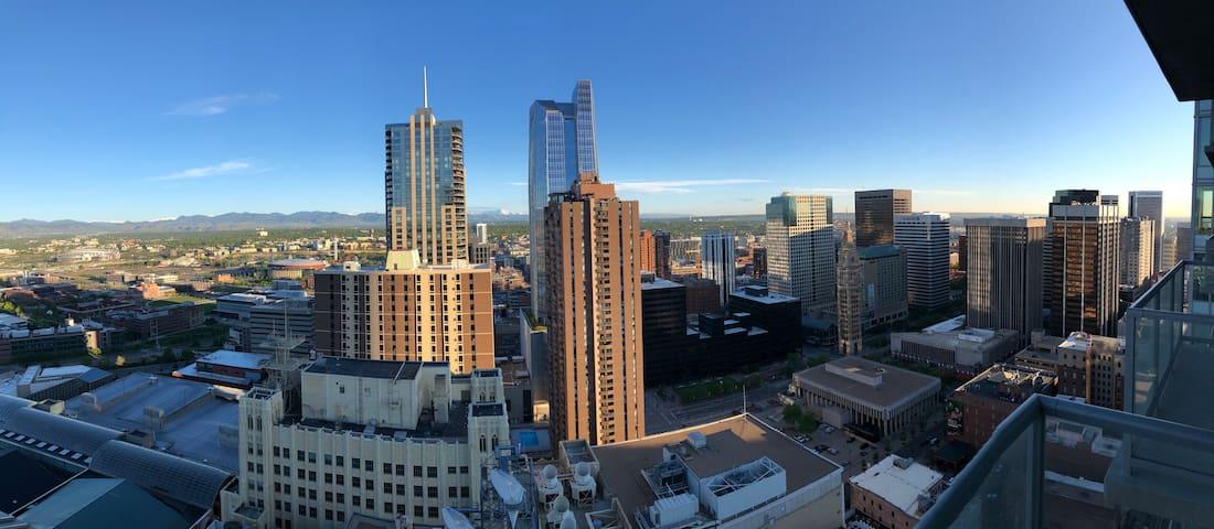 Stunning Views of Rockies & Downtown Denver!!!