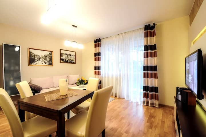 A comfortable apartment near the beach