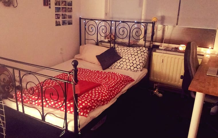 Cosy double room close to the park - Groningen - Dům