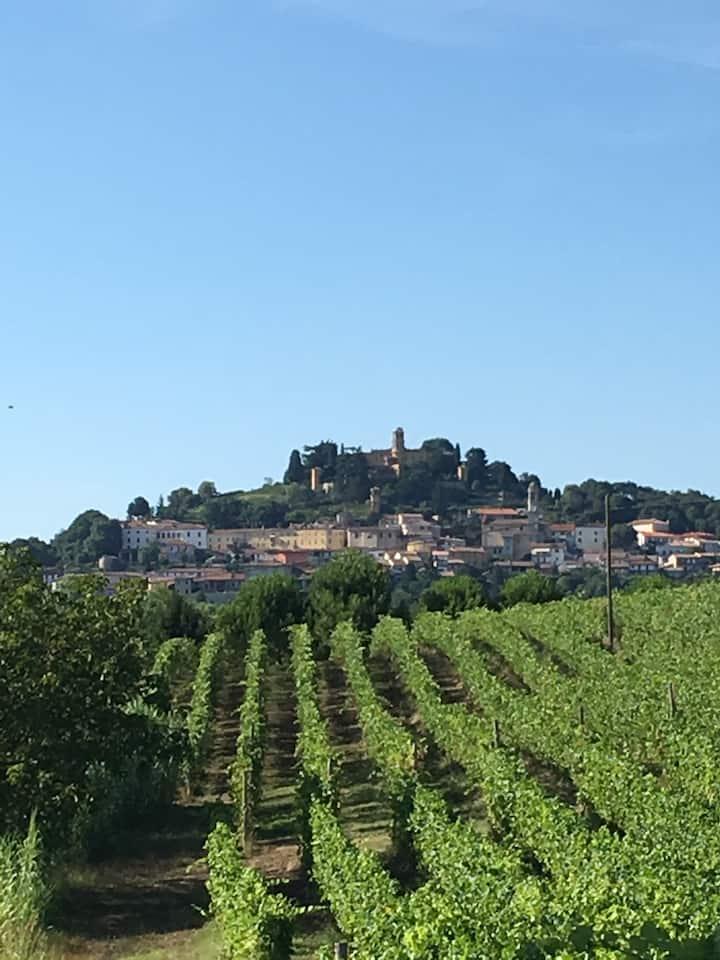 Balcon sur le Monferrato