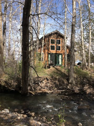 The cabin on the creek