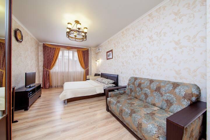 Квартира в историческом центре Краснодара.