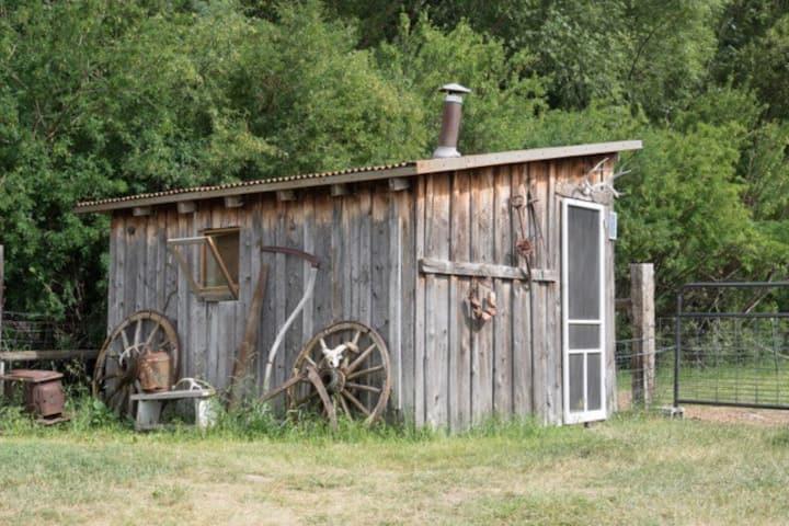 Rustic Montana Sheepherder's Cabin
