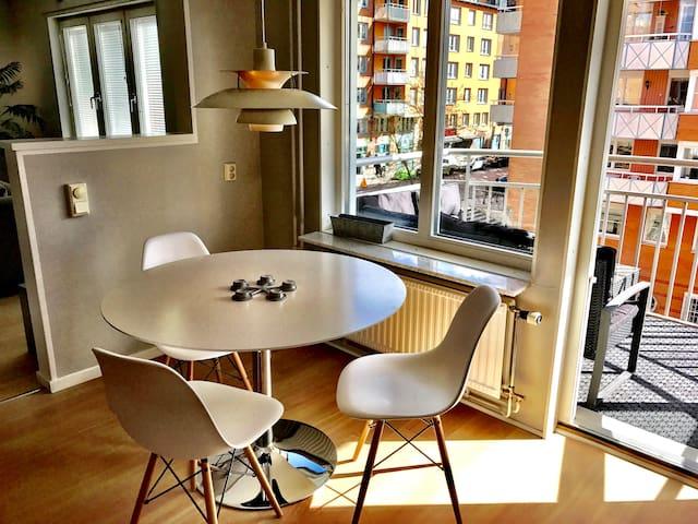 Great location at Södermalm - 50sqm apartment - - Stockholm - Byt