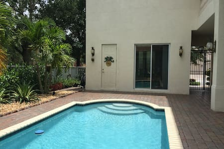 Detached Bedroom Suite-Walk to Concerts-near Polo - Royal Palm Beach