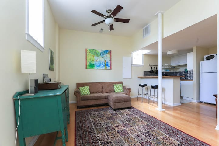 West Asheville Loft Apartment - Asheville - Appartement