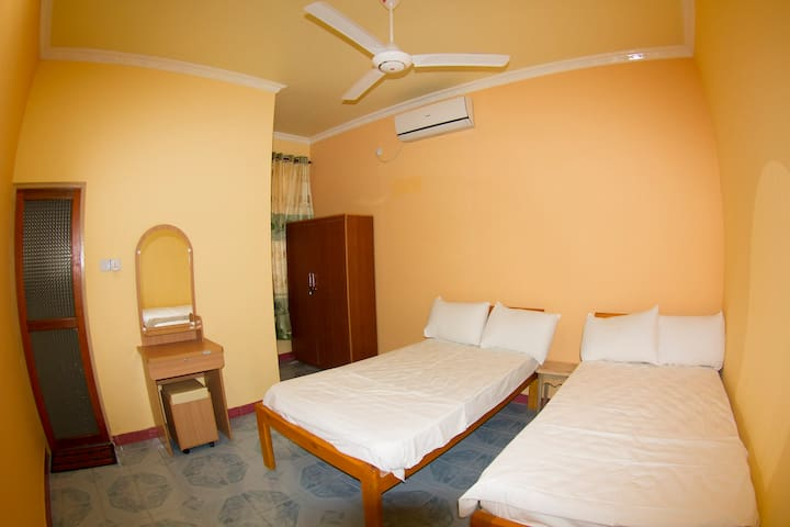 Air conditioned rooms