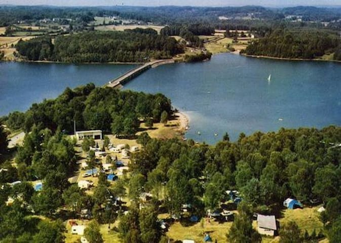 Emplacement privilégié sur  le lac