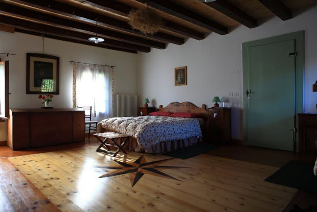 nice and large bedrooms, traditionally furnished  and comfortable