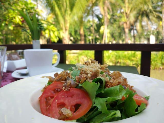 苏王娜塔纳度假村,泳池,餐厅,Spa配套Suvannatara resort & spa - Chiang Mai - Hus