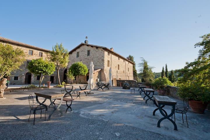 Medieval tower - Petroia Castle - Gubbio