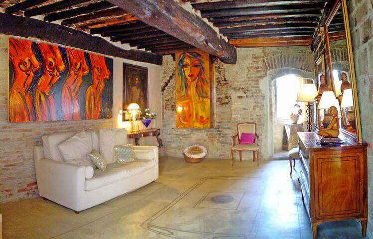 Emozionante Suite artistica - Torrita di Siena - Bed & Breakfast