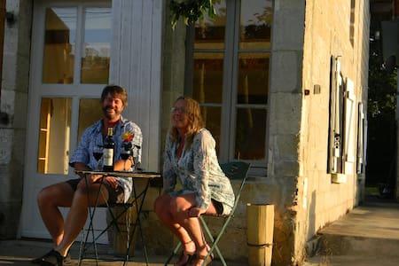 Tranquilité au coeur du village - Petit-Bersac - Hus