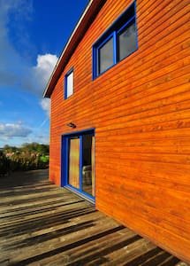 Plages DDays, maison bois moderne